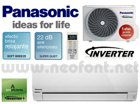AIRE ACONDICIONADO PANASONIC KIT UE12PKE INVERTER