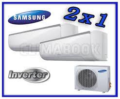 MULTISPLIT 2X1 SAMSUNG  AJ40FCJ2EH INVERTER