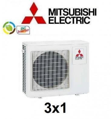MULTISPLIT 3X1 MITSUBISHI MXZ-3D54VA  INVERTER