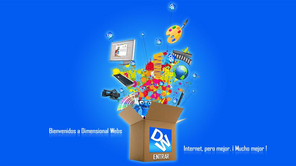 Dimensional webs empresa de dise o web dise o grafico - Empresas de diseno ...